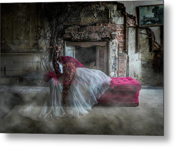 Bridal Ghost Metal Print