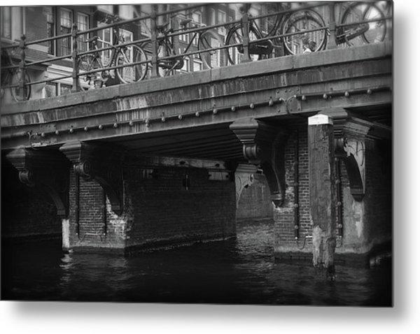 Metal Print featuring the photograph Bridge 6 by Scott Hovind