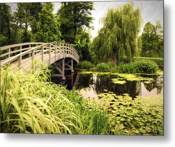 Bridge At Petersburg Metal Print