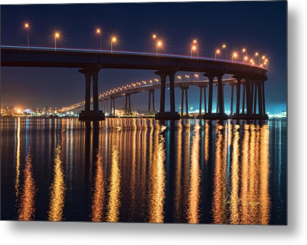 Metal Print featuring the photograph Bridge Bedazzled by Dan McGeorge