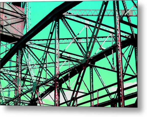 Bridge  Frame -  Ver. 4 Metal Print