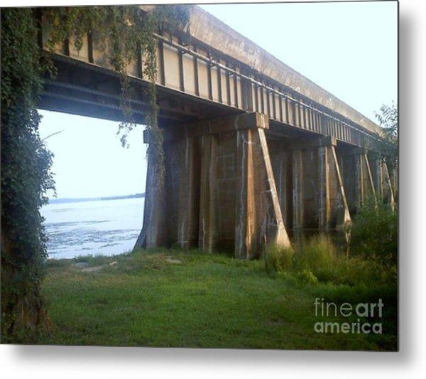 Bridge In Leesylvania Park Va Metal Print