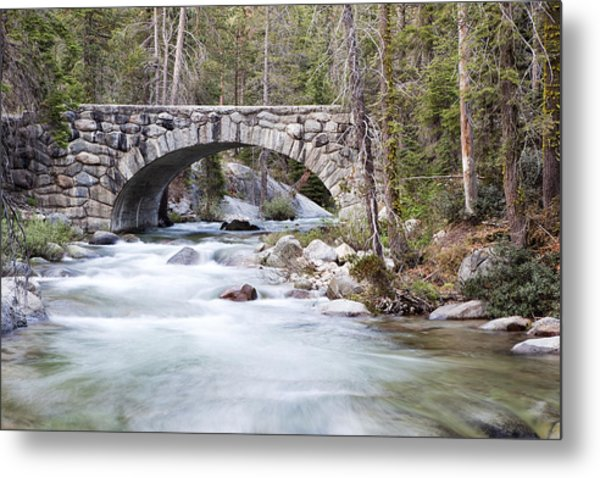Bridge N Creek Metal Print by Rick Pham