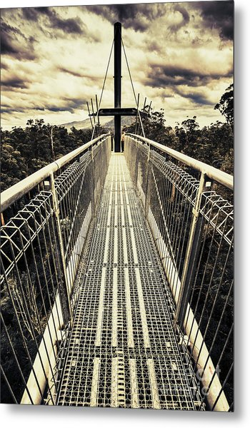 Bridge Of Suspension  Metal Print