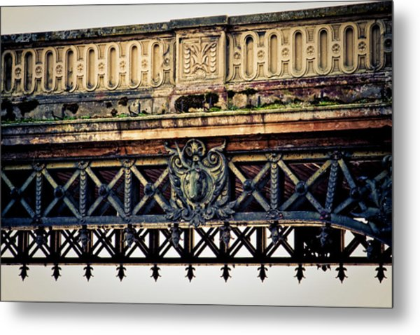 Bridge Ornaments In Germany Metal Print