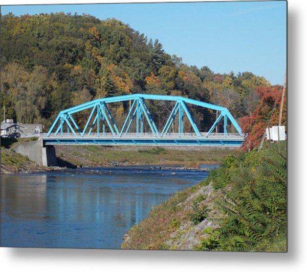 Bridge Over Rondout Creek 2 Metal Print