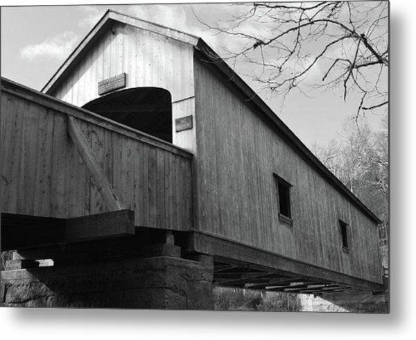 Bridge Over Troubled Water Metal Print