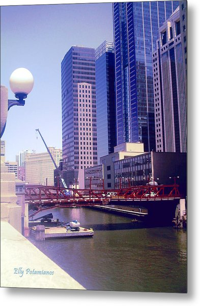 Bridge Overview Metal Print