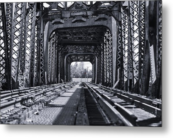 Bridge To No Where 2 Metal Print