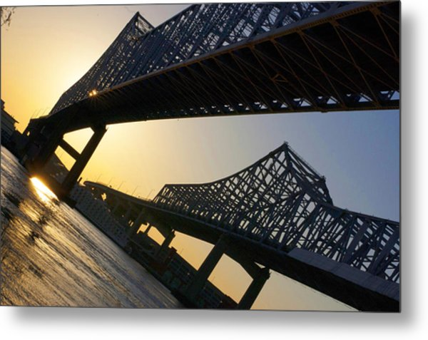 Bridge To The Sun Metal Print