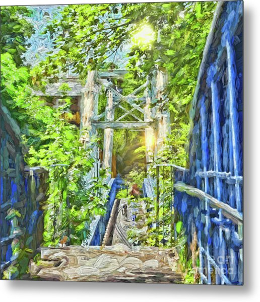 Bridge To Your Dreams Metal Print