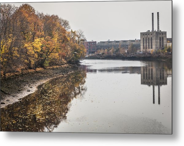Bridgeport Factory Metal Print