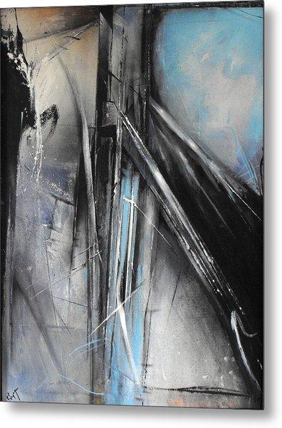 Bridges Two Metal Print by Ralph Levesque