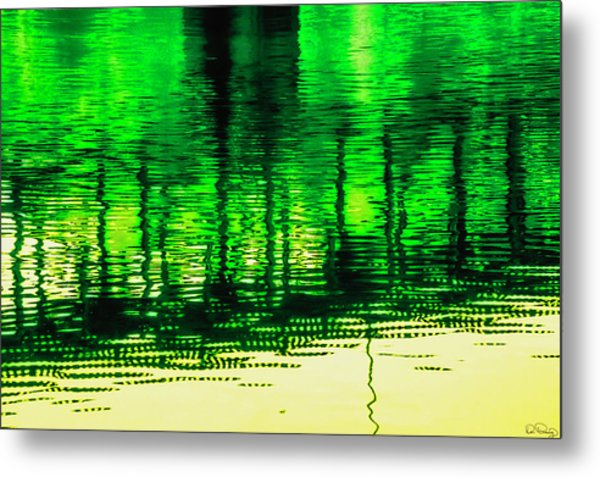 Metal Print featuring the photograph Bridging The Waters by Dee Browning