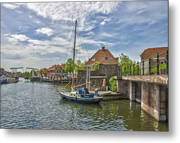 Brielle Harbour Metal Print