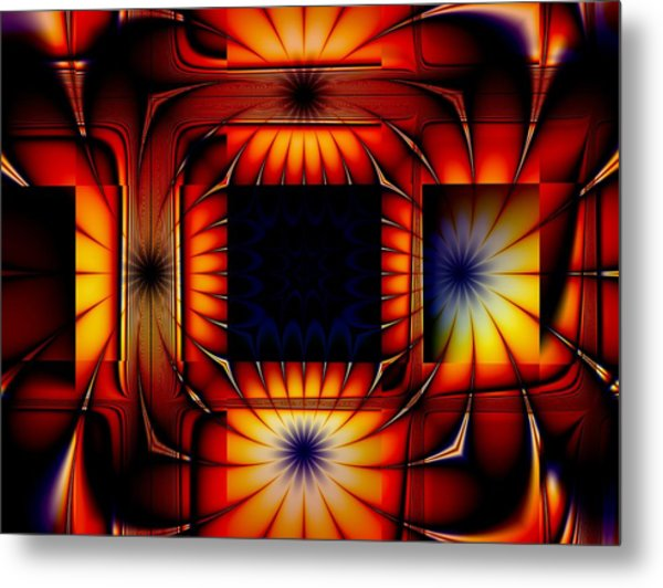 Bright As Can Be Metal Print