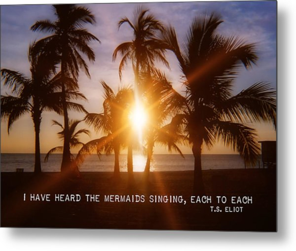 Brilliance Quote Metal Print by JAMART Photography
