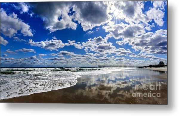 Brilliant Clouds Metal Print