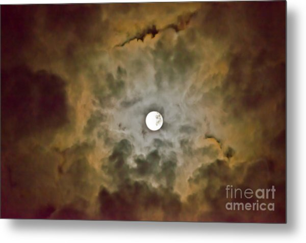 Brilliant Night Sky Metal Print