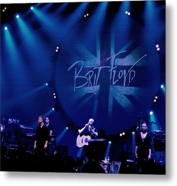 Brit Floyd Space And Time World Tour 2015.3 Metal Print