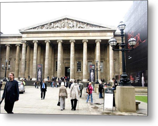 British Museum 3752 Metal Print by Charles  Ridgway