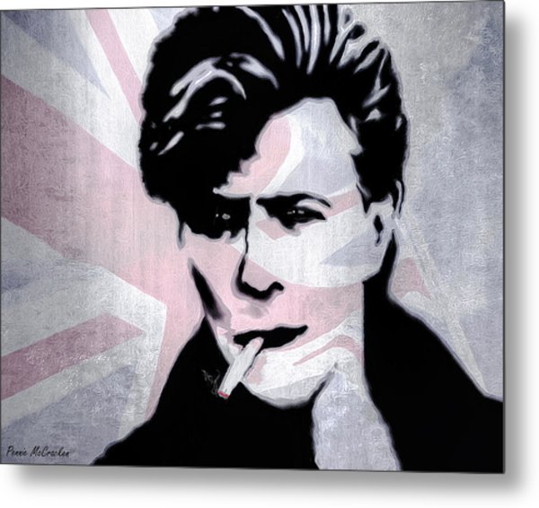 British Rock Metal Print