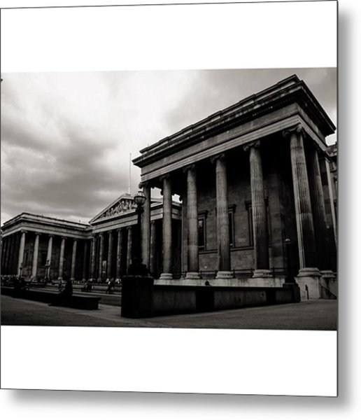#britishmuseum #london #thisislondon Metal Print