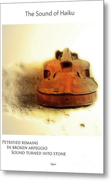 Broken Arpeggio  Metal Print by Steven Digman