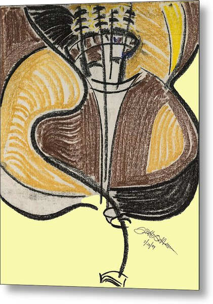 Broken Bass Dyptic 2 Metal Print by Diallo House