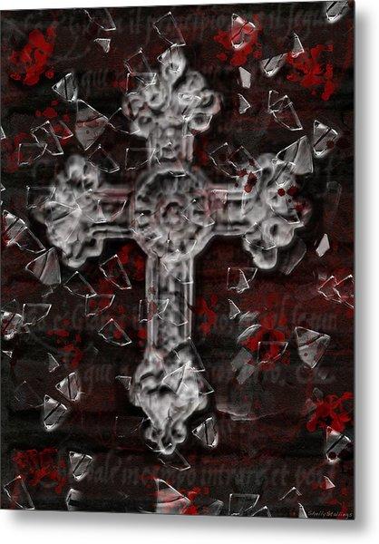Broken Faith Metal Print