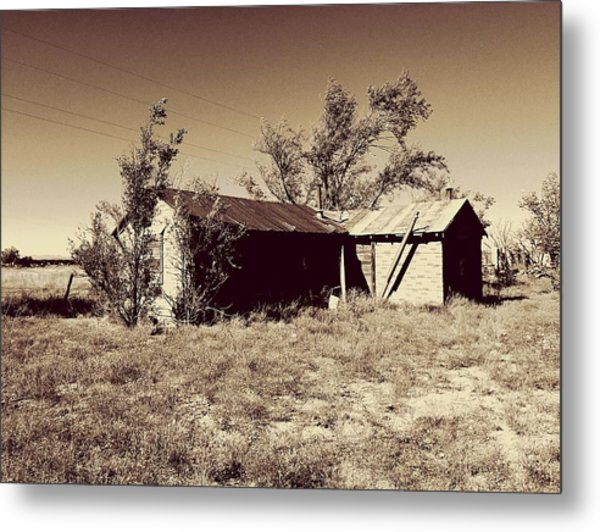 Broken Homestead Metal Print