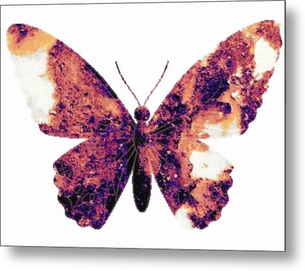Broken Wings Metal Print