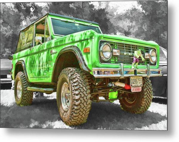 Bronco 1 Metal Print