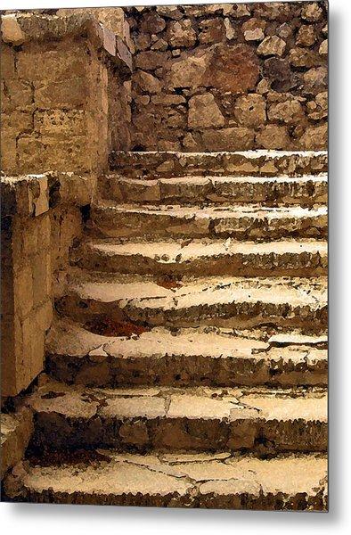 Bronze Age Stairs Metal Print