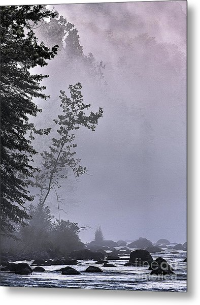 Brooding River Metal Print