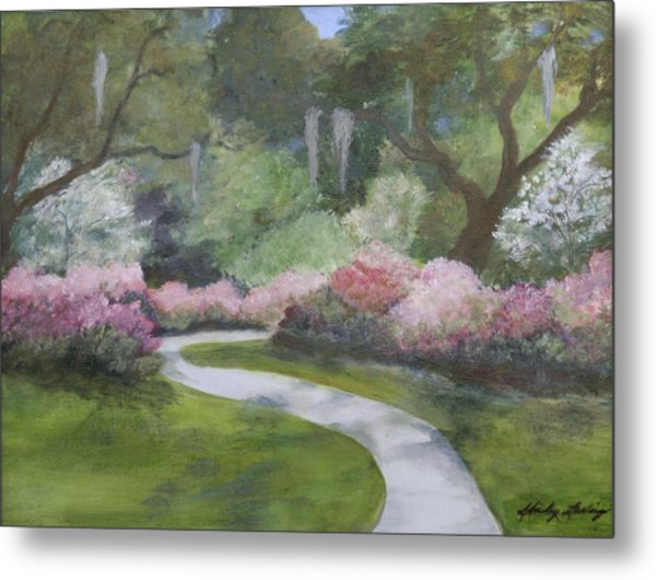 Brookgreen Gardens In Spring Metal Print by Shirley Lawing