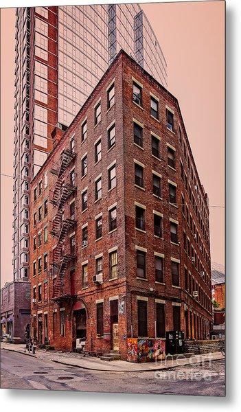 Brooklyn Apartments Metal Print