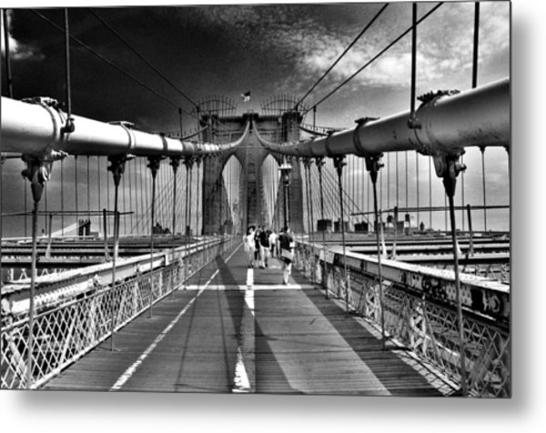 Brooklyn Brige Metal Print