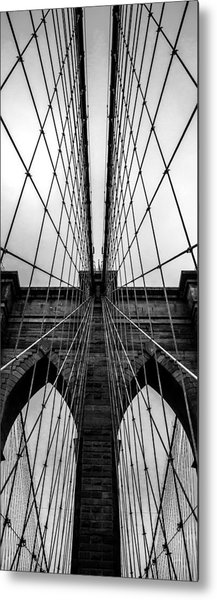 Brooklyn's Web Metal Print