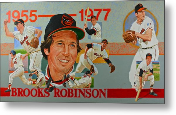 Brooks Robinson Metal Print