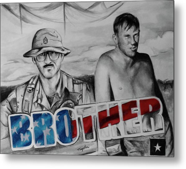 Brother Metal Print by Laura Taylor