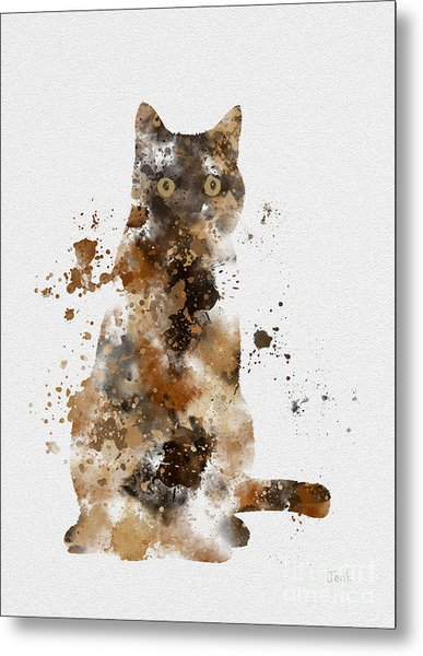 Brown Tabby Metal Print
