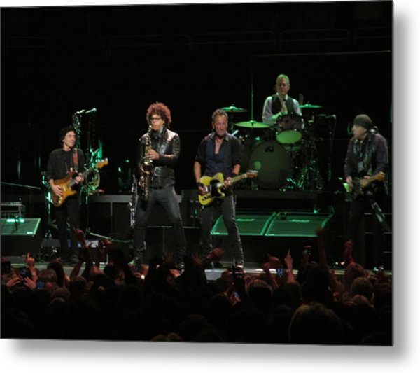 Bruce Springsteen And The E Street Band Metal Print