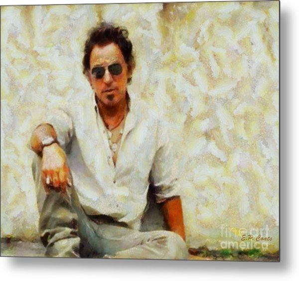 Bruce Springsteen Metal Print