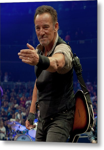 Bruce Springsteen. Pittsburgh, Sept 11, 2016 Metal Print