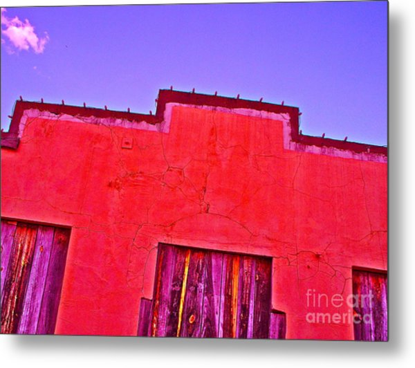 Bryan Downtown Metal Print by Chuck Taylor