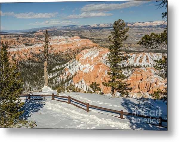 Bryce Amphitheater From Bryce Point Metal Print