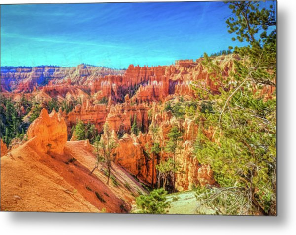 Metal Print featuring the photograph Bryce Canyon Artistry by John M Bailey