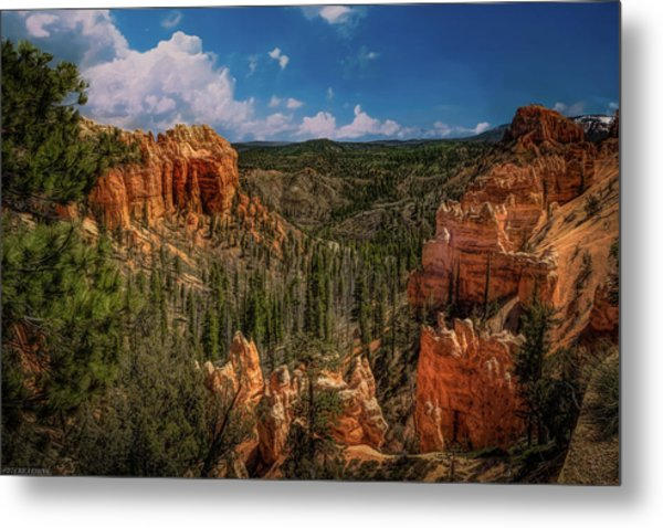 Bryce Canyon From The Top Metal Print