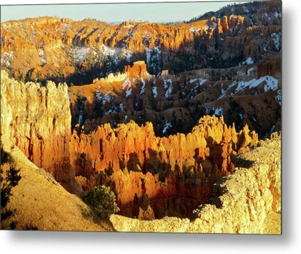 Bryce Canyon Hoodoos Evening Metal Print